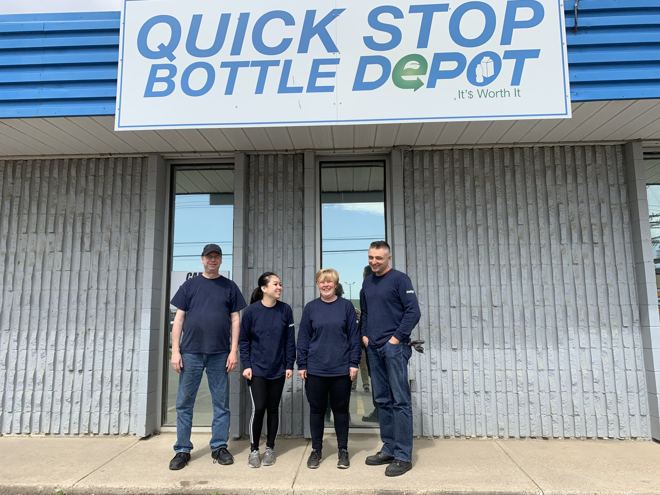 Quick Stop Bottle Depot (Edmonton)