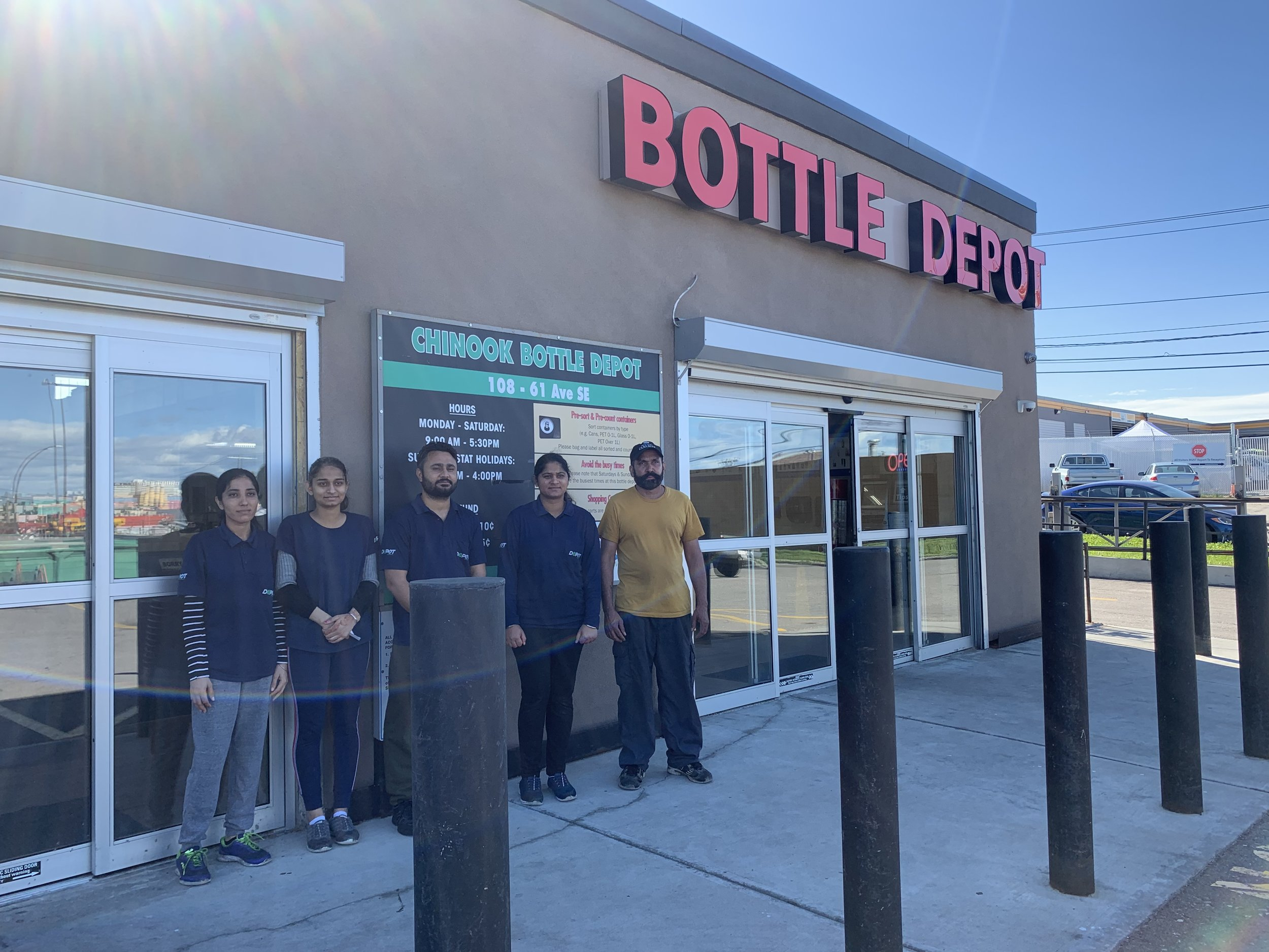 Chinook Bottle Depot (Calgary)