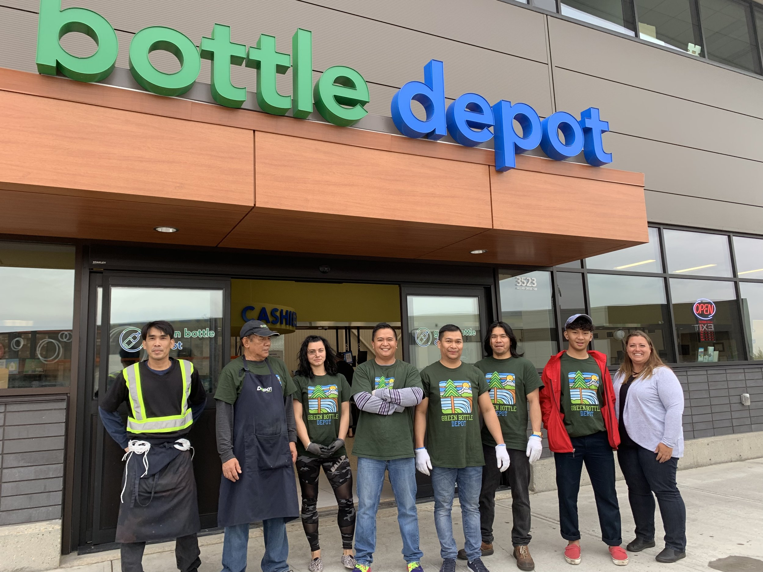 The Green Bottle Depot Windermere (Edmonton)