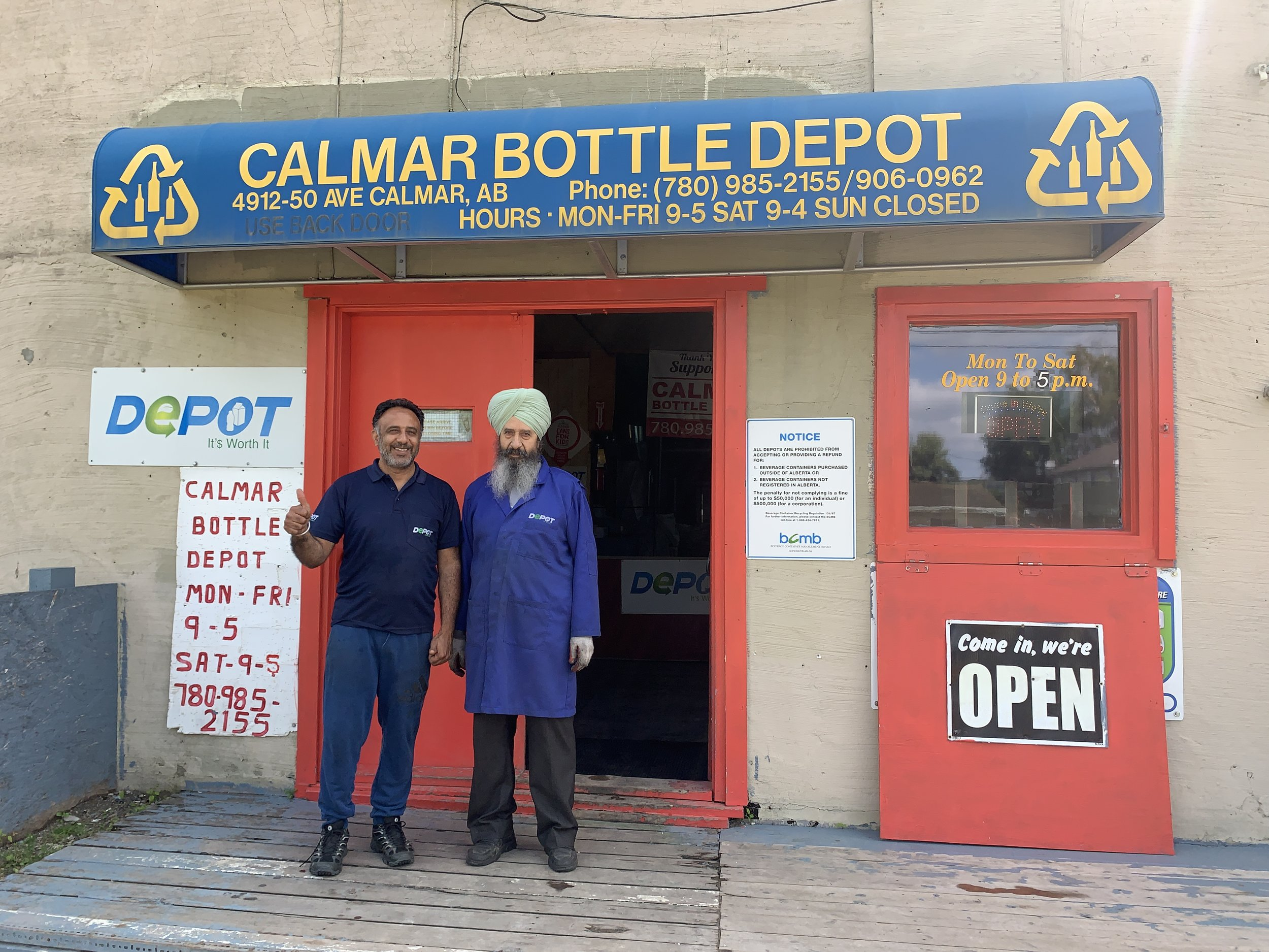 Calmar Bottle Depot