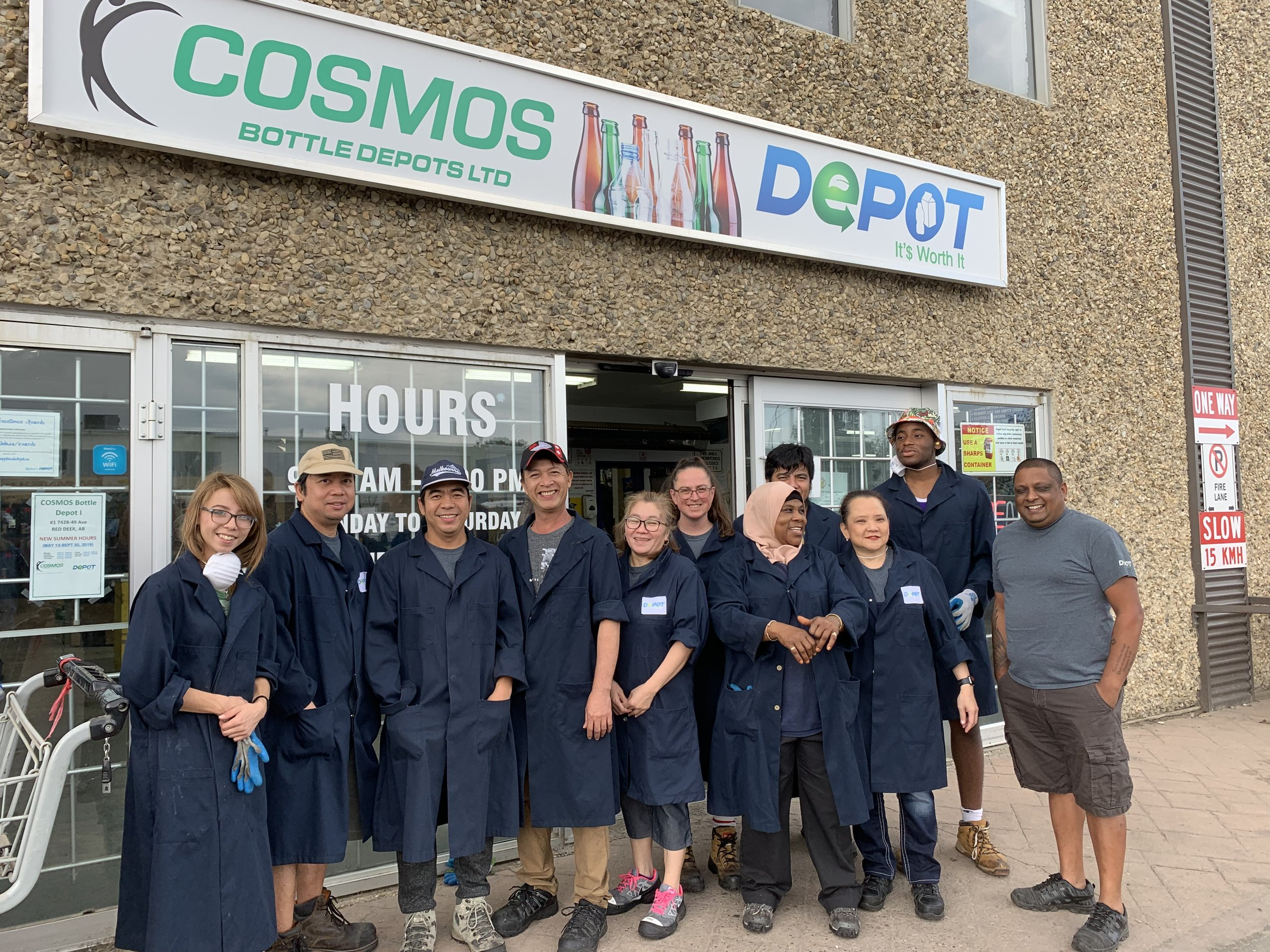 Cosmos 1 Bottle Depot (Red Deer)