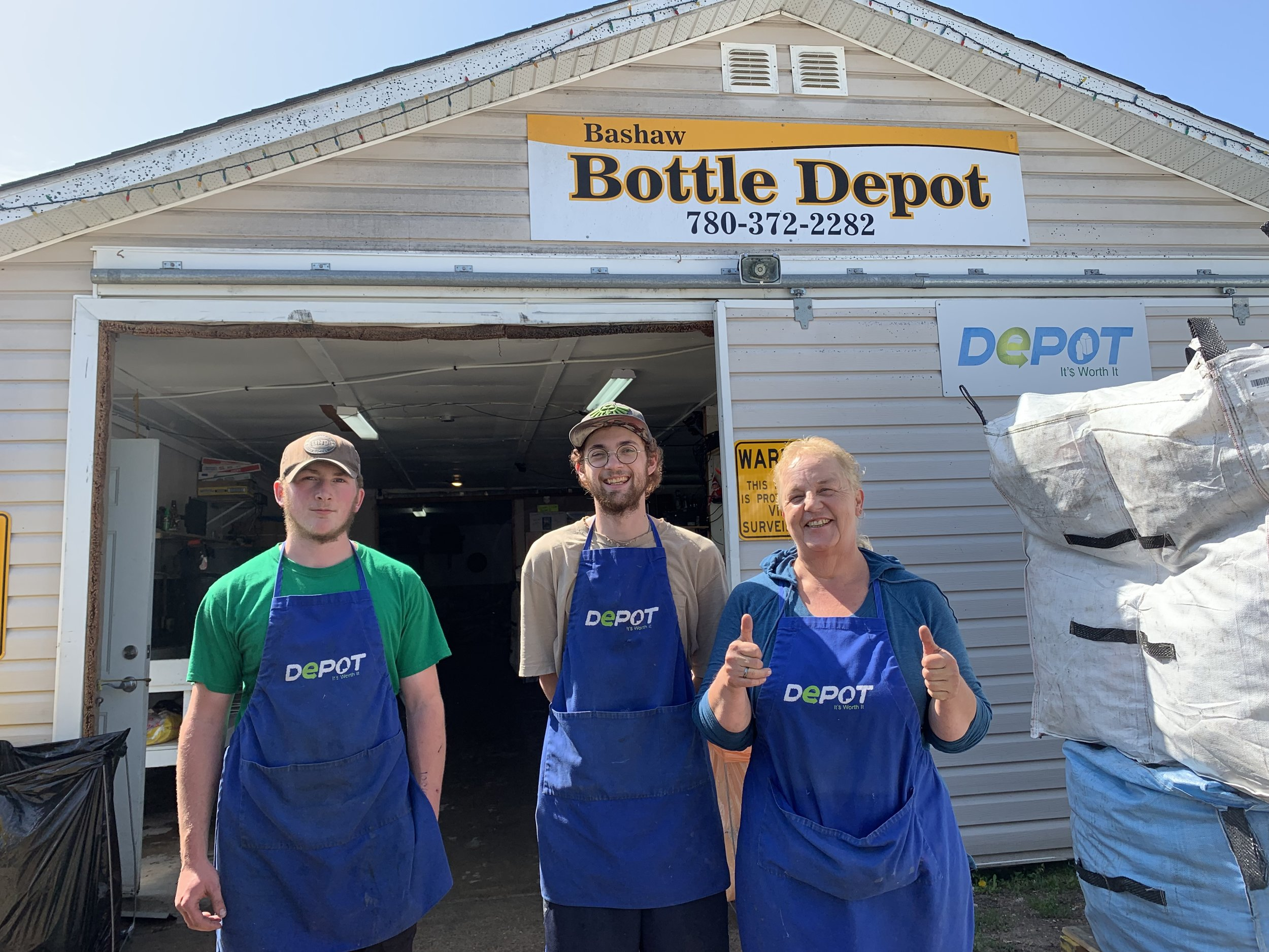 Bashaw Bottle Depot
