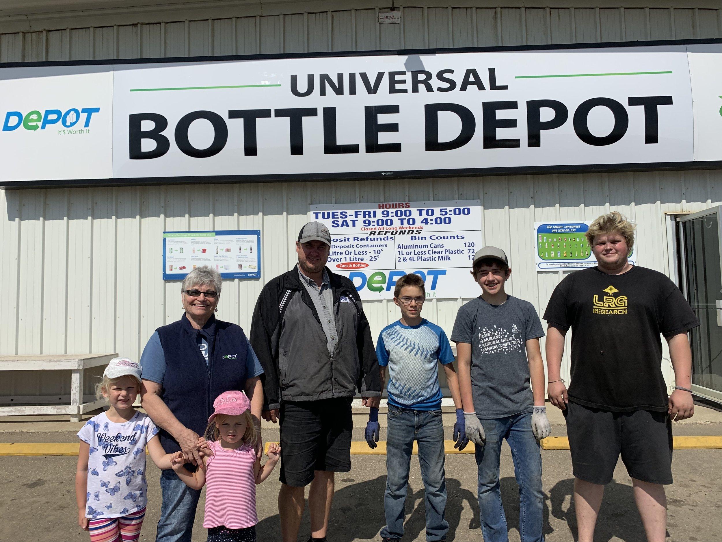 Universal Bottle Depot (Camrose)
