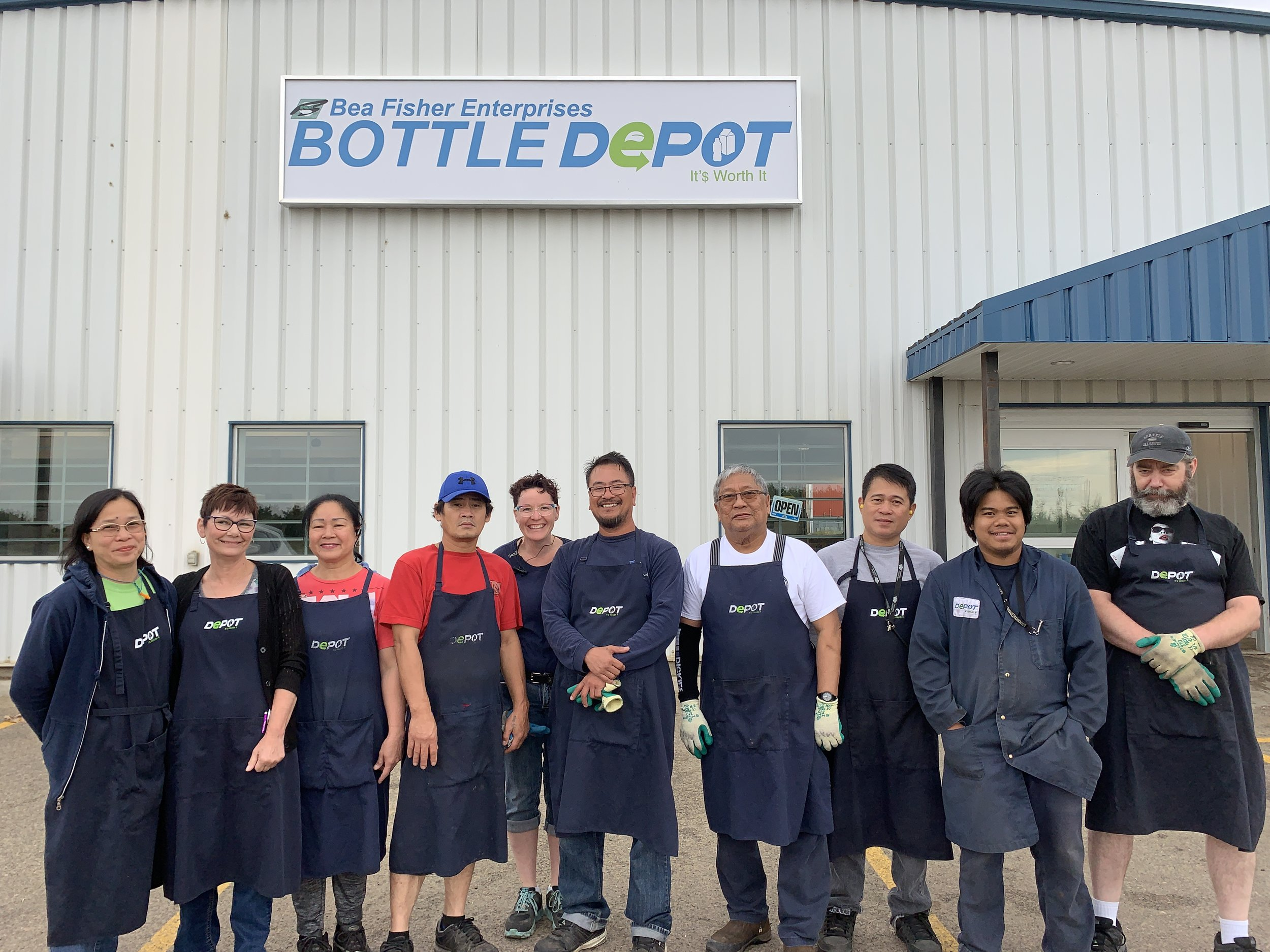 Bea Fisher Enterprises Inc Bottle Depot (Lloydminster)