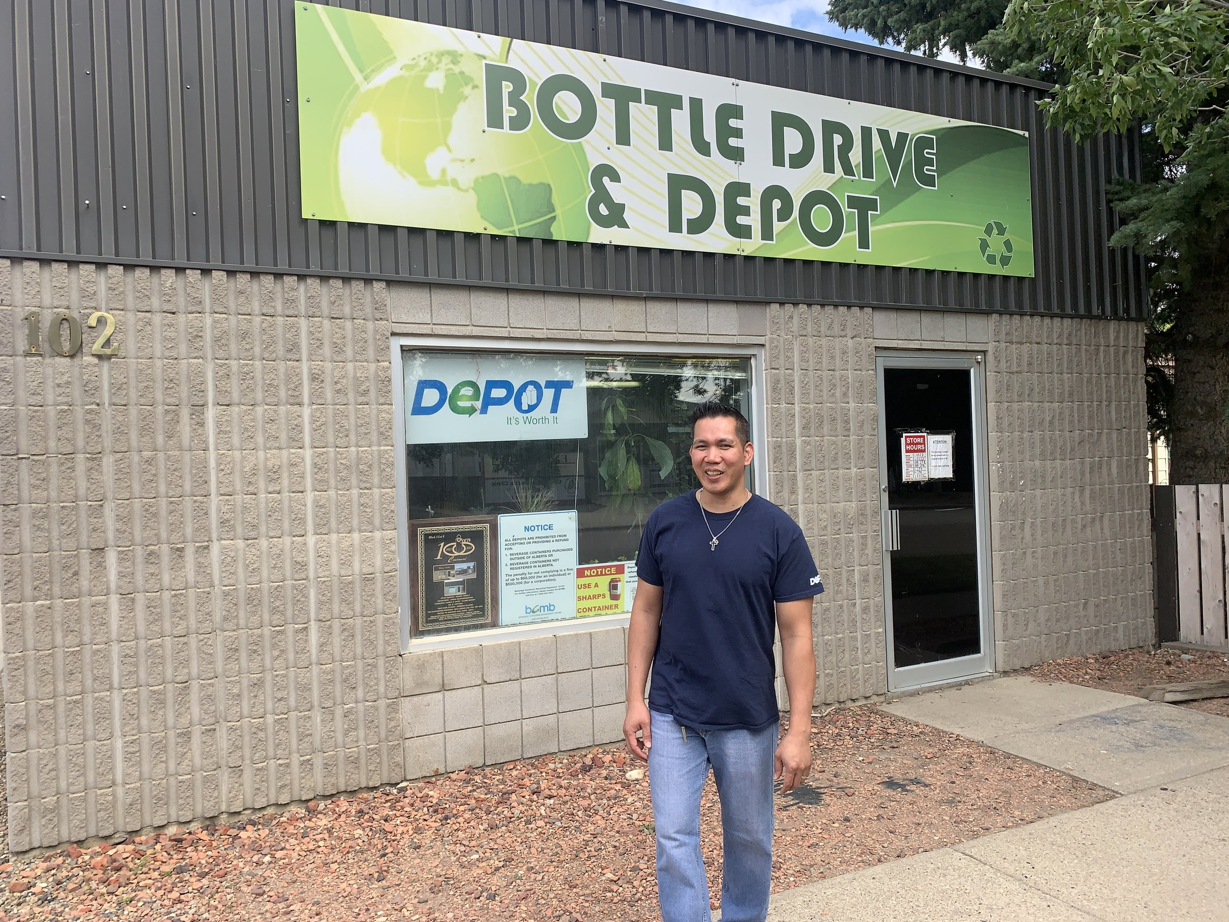 Oyen Bottle Drive & Depot