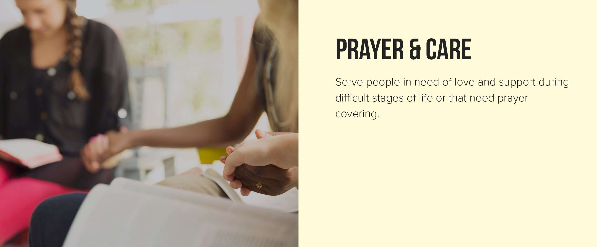 prayer and care real life church springboro ohio