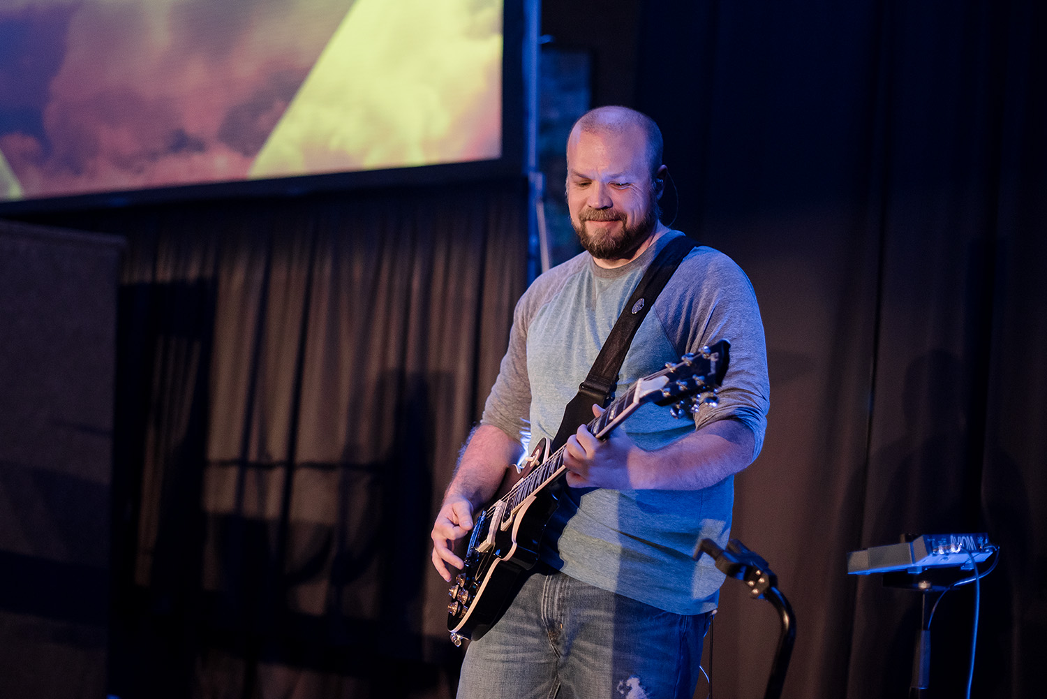 Worship - This team prepares the way for our church family to encounter the presence of God through leading in worship. Whether you have a passion for playing an instrument or enjoy singing, the Real Life worship team would love for you to be a part!