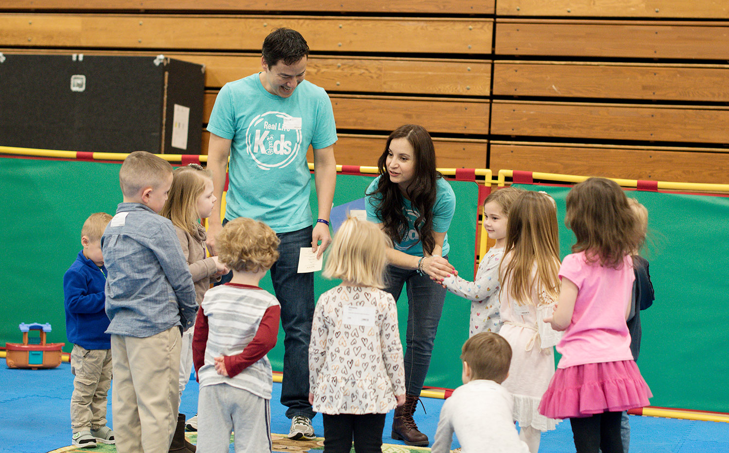 Real Life Kids - We believe in partnering with parents to raise kids who love God, love church, and become great leaders. Our kids teams provide energetic and creative environments every weekend. Our kids aren't just the future of the church, they are a vital part of our church now.