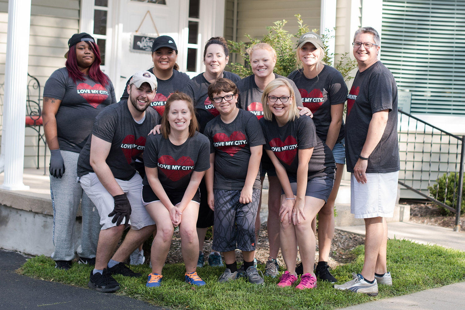 """Love My City - Church isn't church unless our compassion spills beyond the four walls of our weekend services. And that happens through something called, """"I Love My City."""" This ongoing initiative is designed for community outreach and positively impacting neighborhoods."""