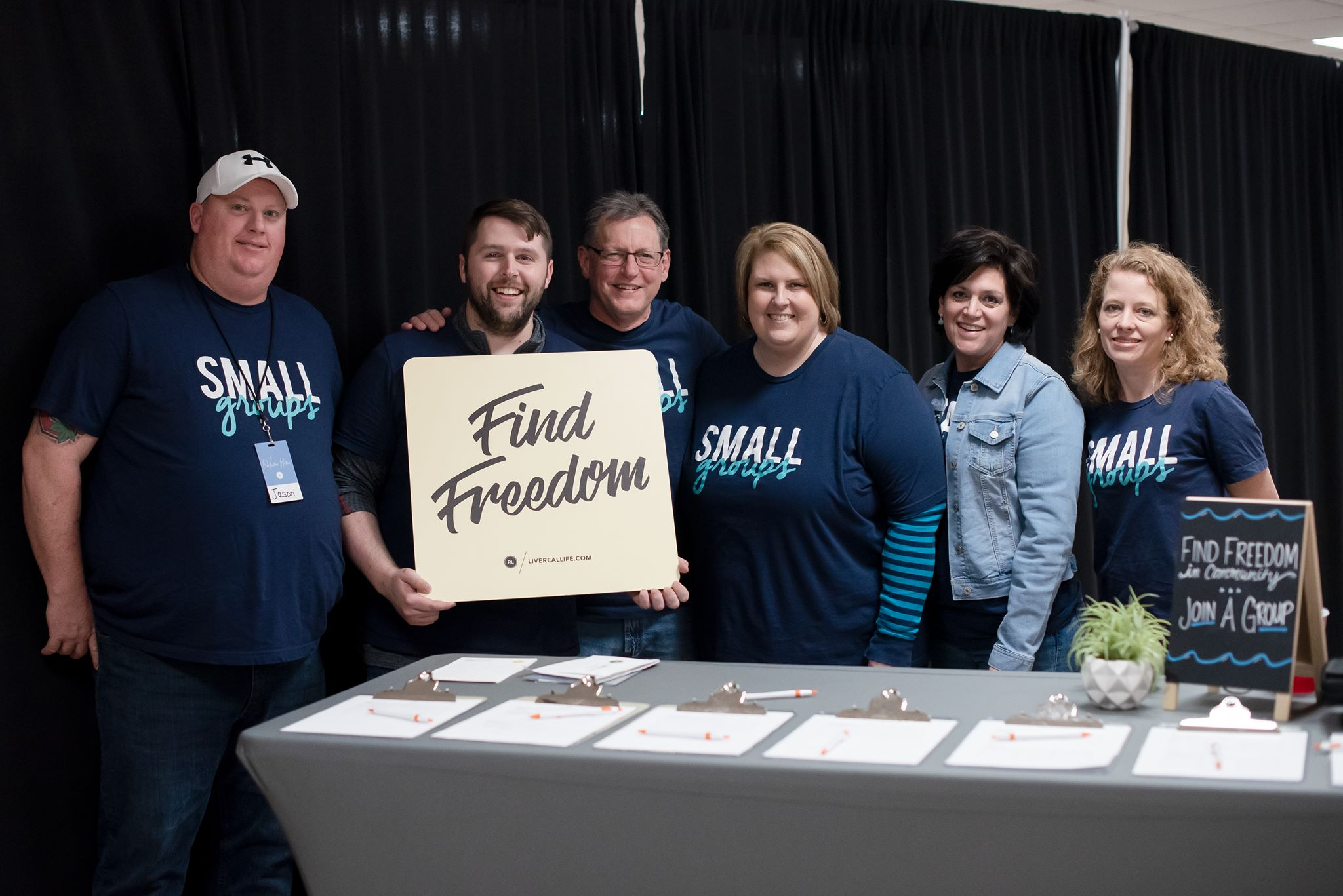 SMALL Groups - We believe life change happens in the context of relationships. Life Groups have one simple purpose: to bring people together. God created us to live in community with others, and it is only then that we can experience the full life He intends for us.