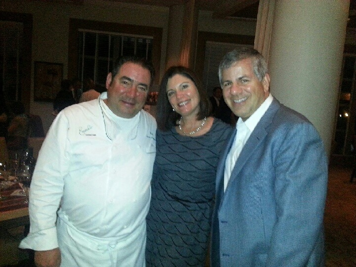 Looking forward to seeing our friend Emeril knock it out of the park again!
