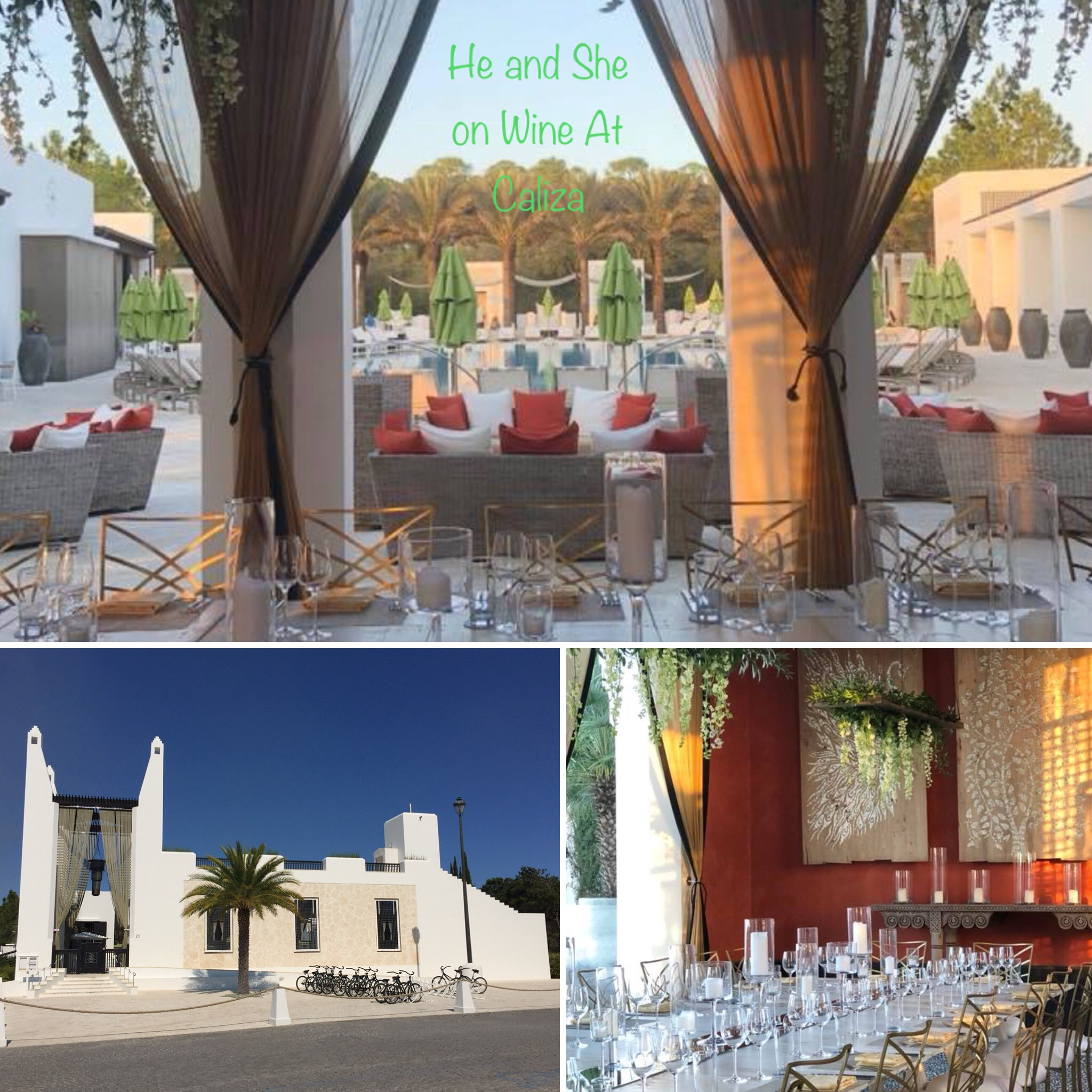 A wine dinner is held at Caliza on Wednesday night.
