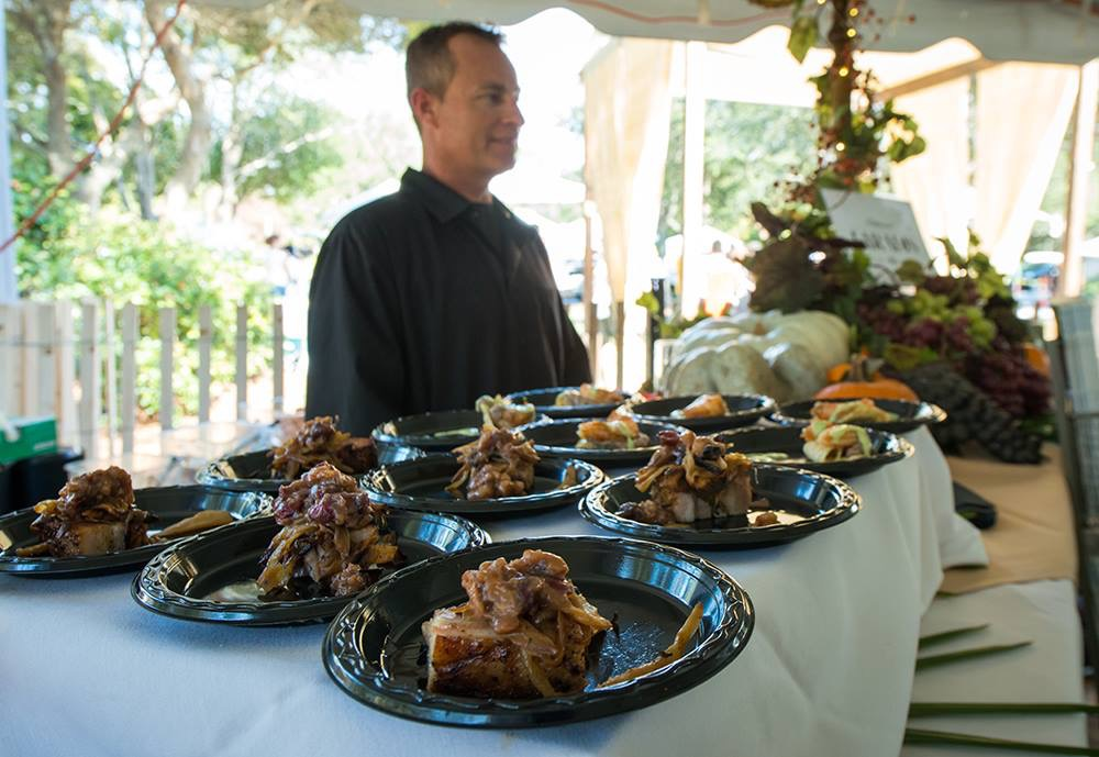 The Festival is the perfect opportunity to sample the Gulf Coast's harvest season cuisine. (Courtesy STM Photography)