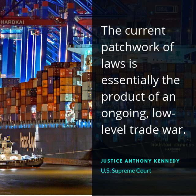 This case stems from a conflict between the Dormant Commerce Clause and the 21st Amendment