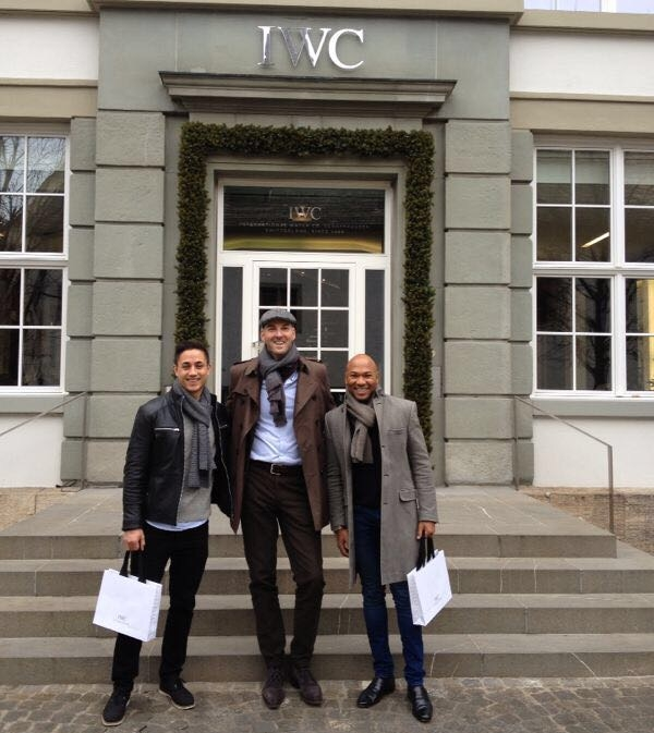 IWC, Schaffhausen  So excited to be meeting Christian Knoop, Creative Director at IWC and to get a personal tour. Amazing!