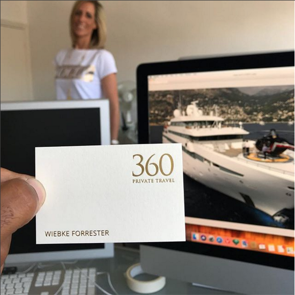 Exciting News! - I am very excited to have partnered with 360 Private Travel as a Luxury Travel Consultant. If you would like more information or would like to receive my Monthly Newsletter with travel ideas and inspiration please contact me on wiebke@360privatetravel.com