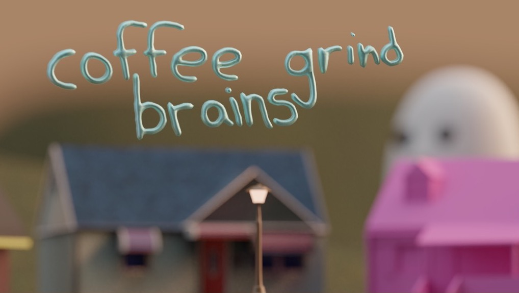An early work in progress shot of Coffee Grind Brains (CGB)