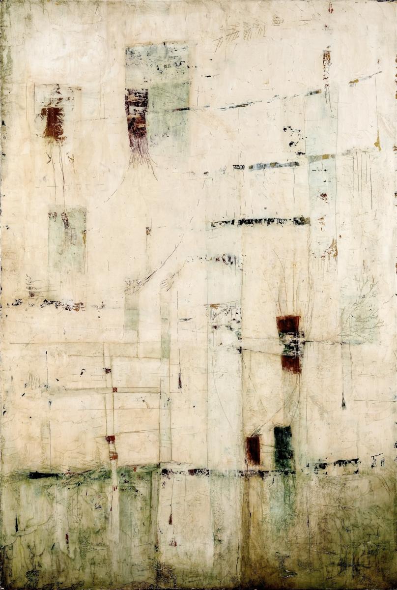 Bridges  Oil on panel  24 x 36
