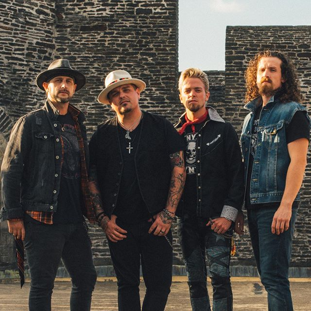 Black Stone Cherry's new covers EP, Black 2 Blues Vol 2, is out 10.18😎