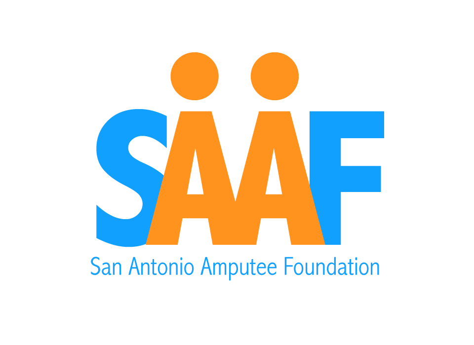 San Antonio Amputee Foundation  We are a 501(c)(3) nonprofit organization rebuilding the lives of amputees through peer support, education, recreation, and financial assistance for basic home & car modifications and prosthetic limbs.