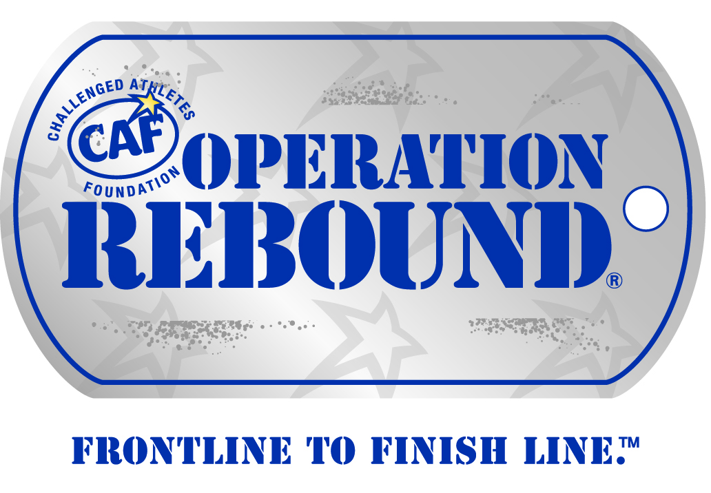 OPERATION REBOUND – FRONTLINE TO FINISH LINE:  CAF's Operation Rebound® program strengthens the mental and physical well-being of veterans, military personnel and first responders with permanent physical injuries by providing them opportunities to use sports and fitness to re-integrate into our communities and by empowering them through sports.  Through Operation Rebound specific grant requests and sport clinics, CAF is there to support our service members from Frontline to Finish line.   GRANT APPLICATIONS: YEAR ROUND    CLICK HERE TO APPLY FOR AN OPERATION REBOUND GRANT