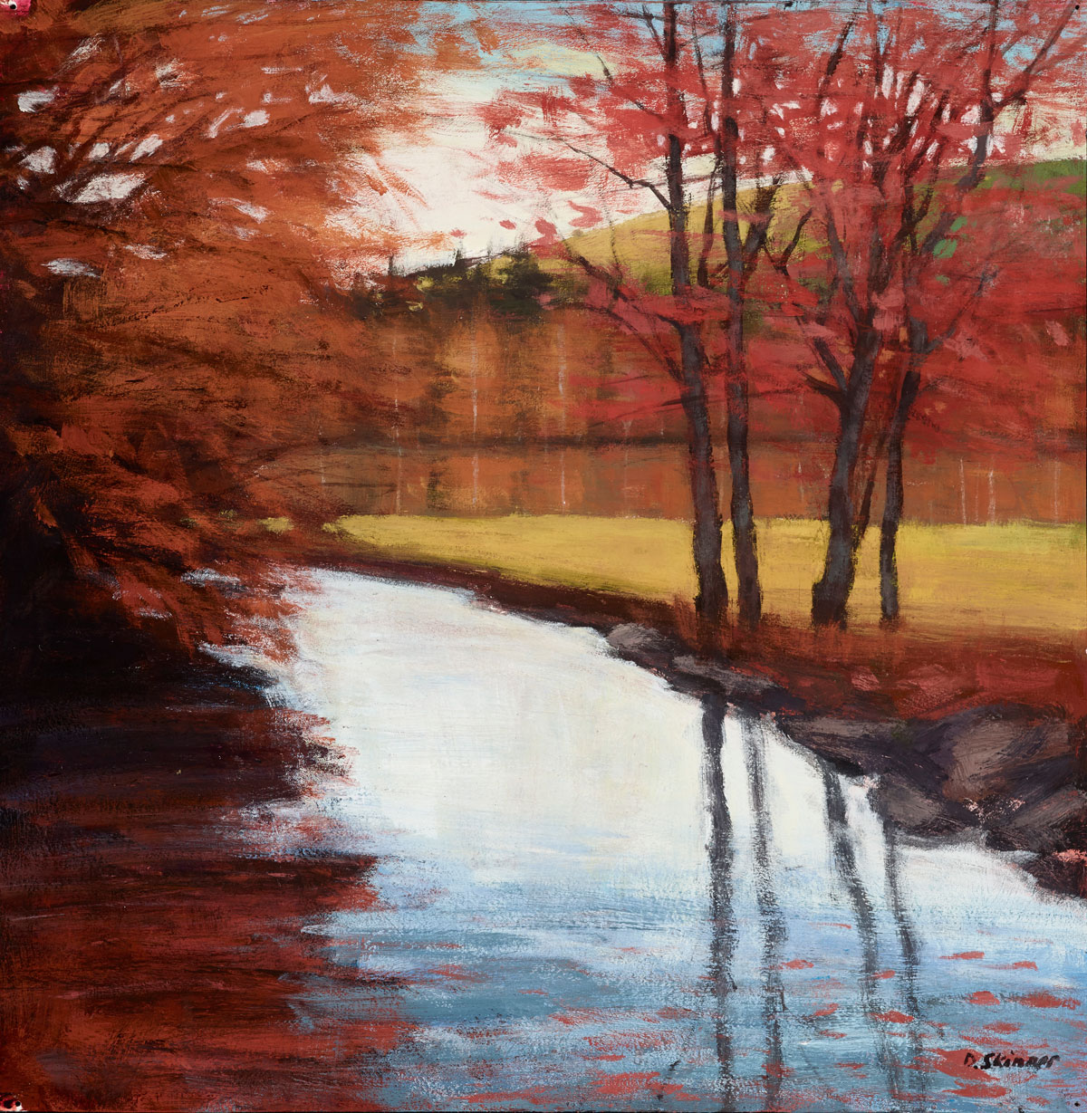 Red Trees (sold)