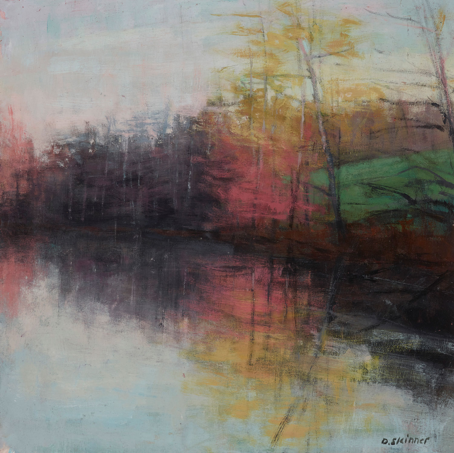 Pink Tree Reflection (sold)