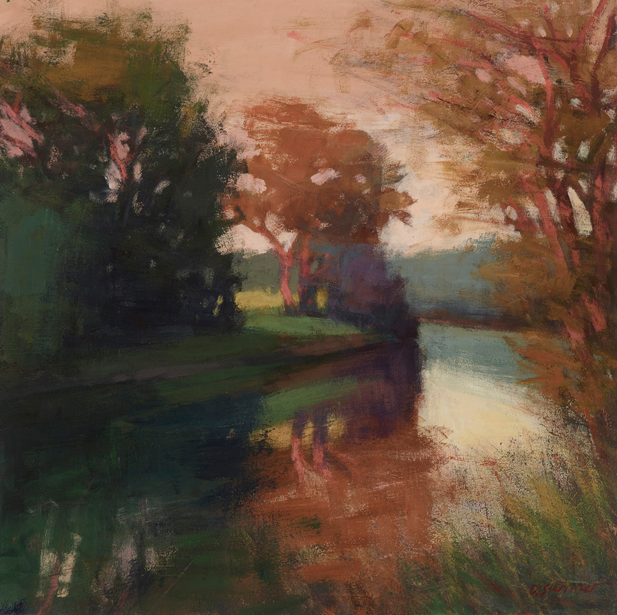 Riverside Reflection (sold)
