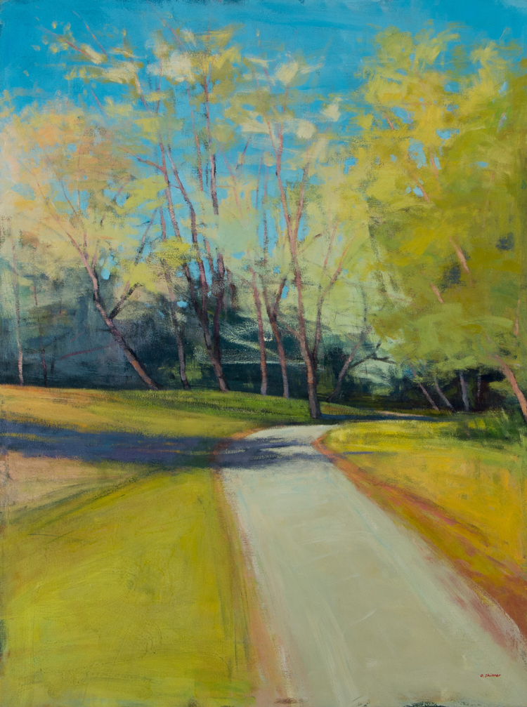 Riverside Path Shadows (sold)