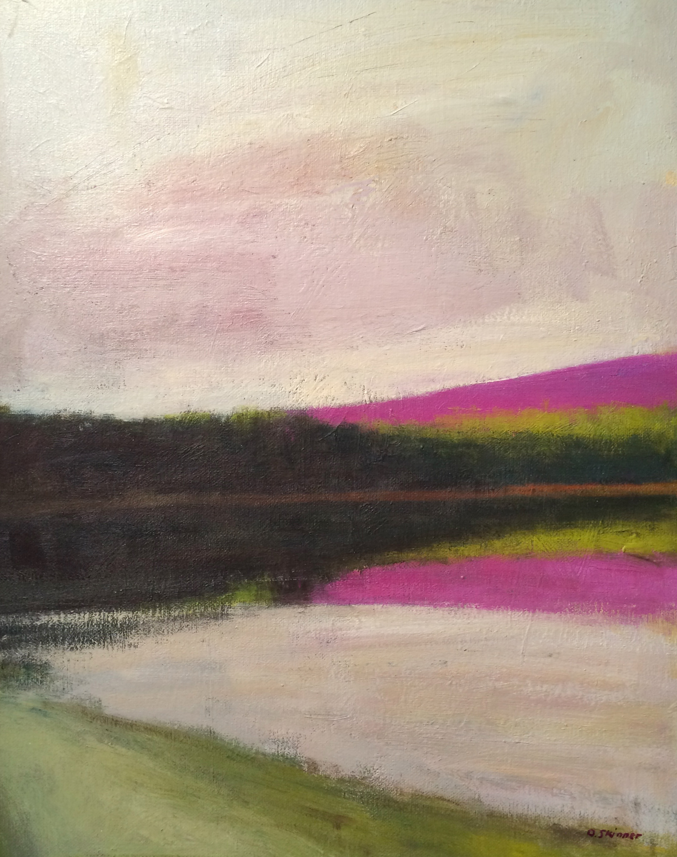 Magenta Reflection (sold)