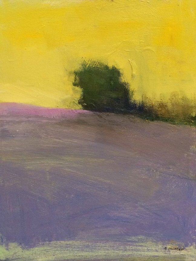 Yellow Sky, Purple Field (available)