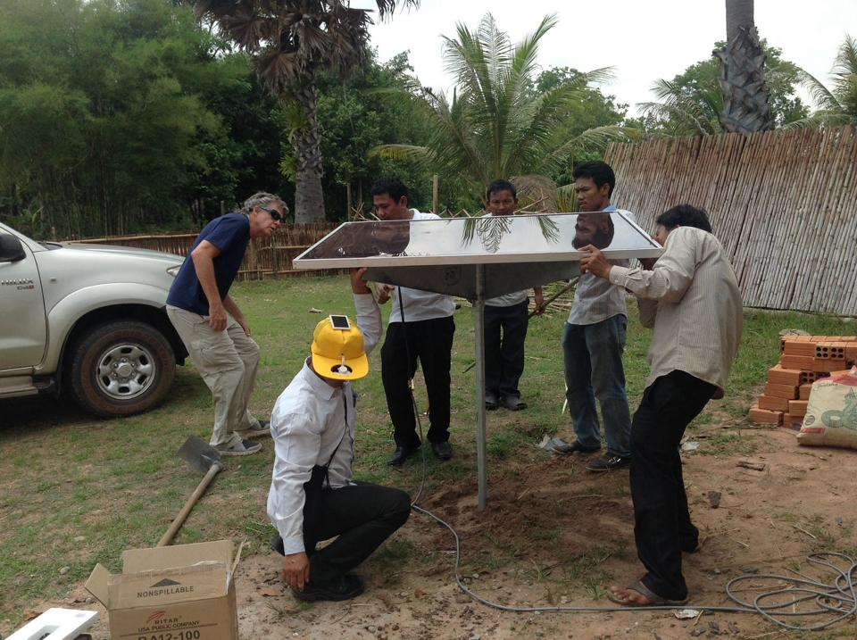Constructing Solar Power For A School