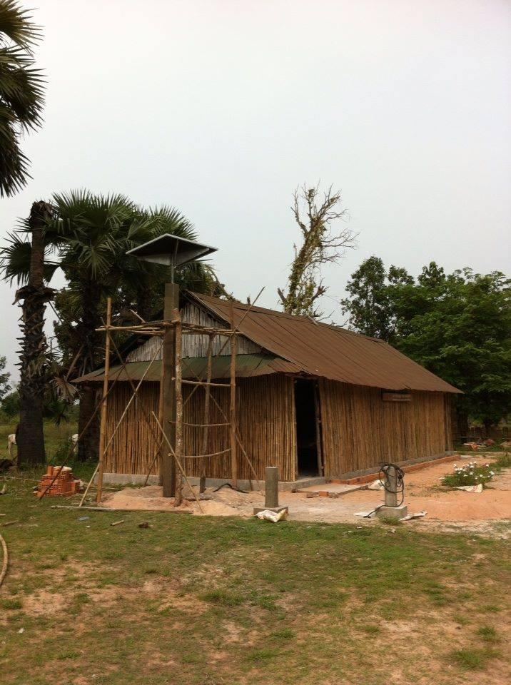 Solar Power At Samrong School