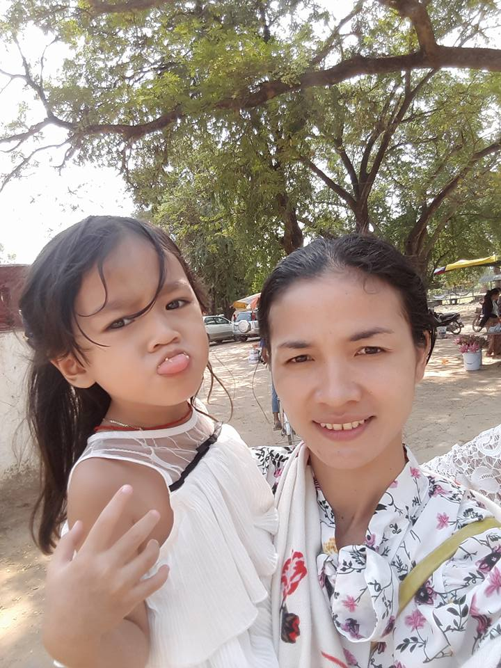 Mony and her daughter, 2018