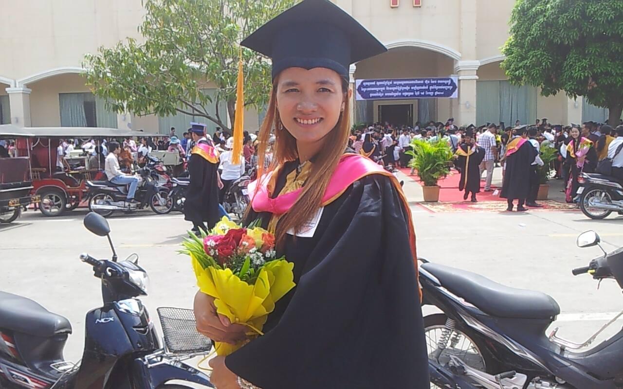 College graduation in 2014