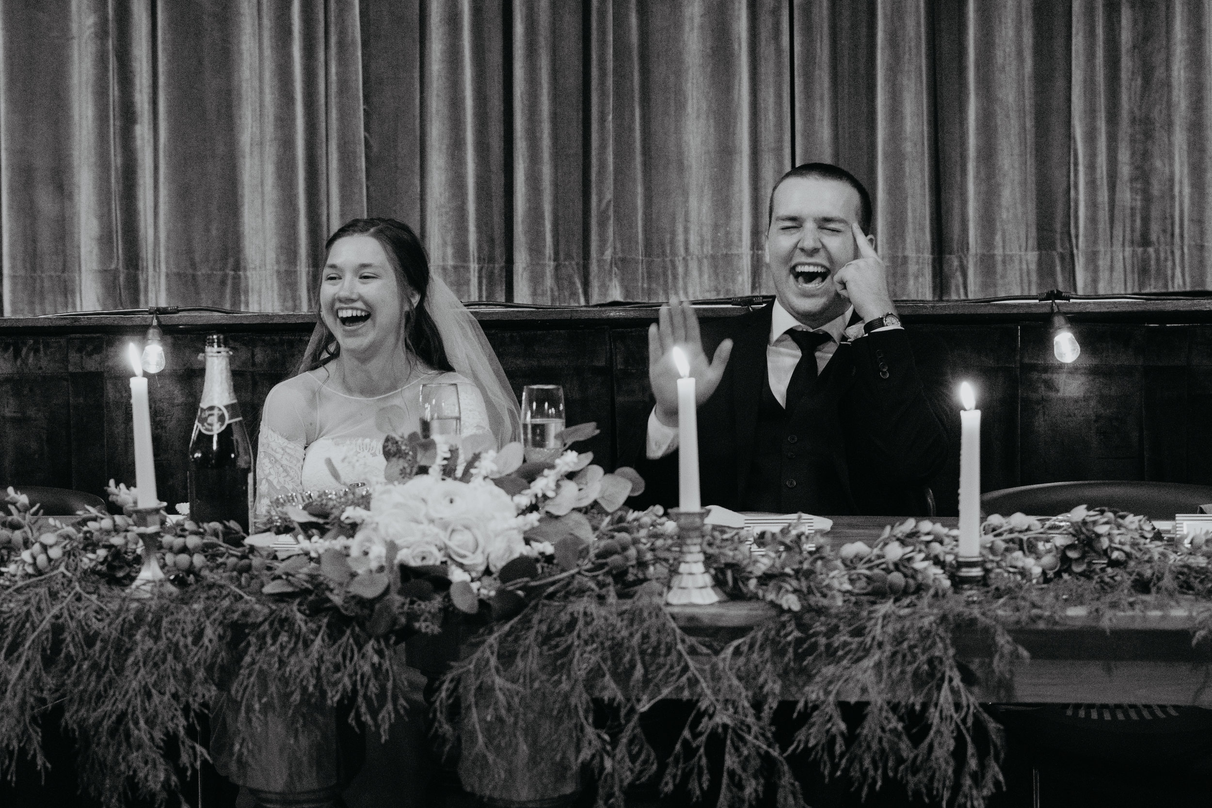 When your best friend is your best man and has some funny stories!