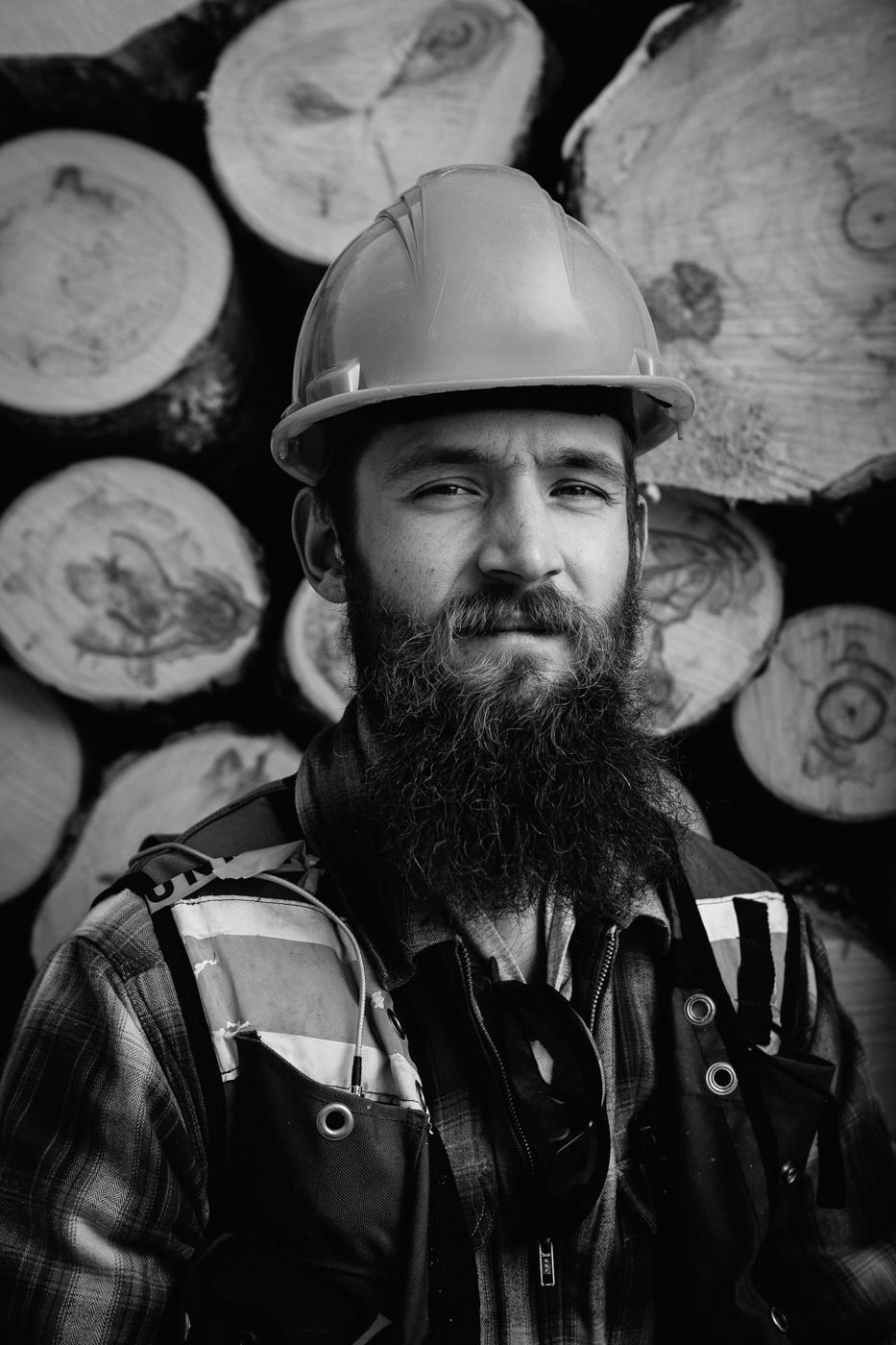 FRIAA Alberta Lumberjack Portrait