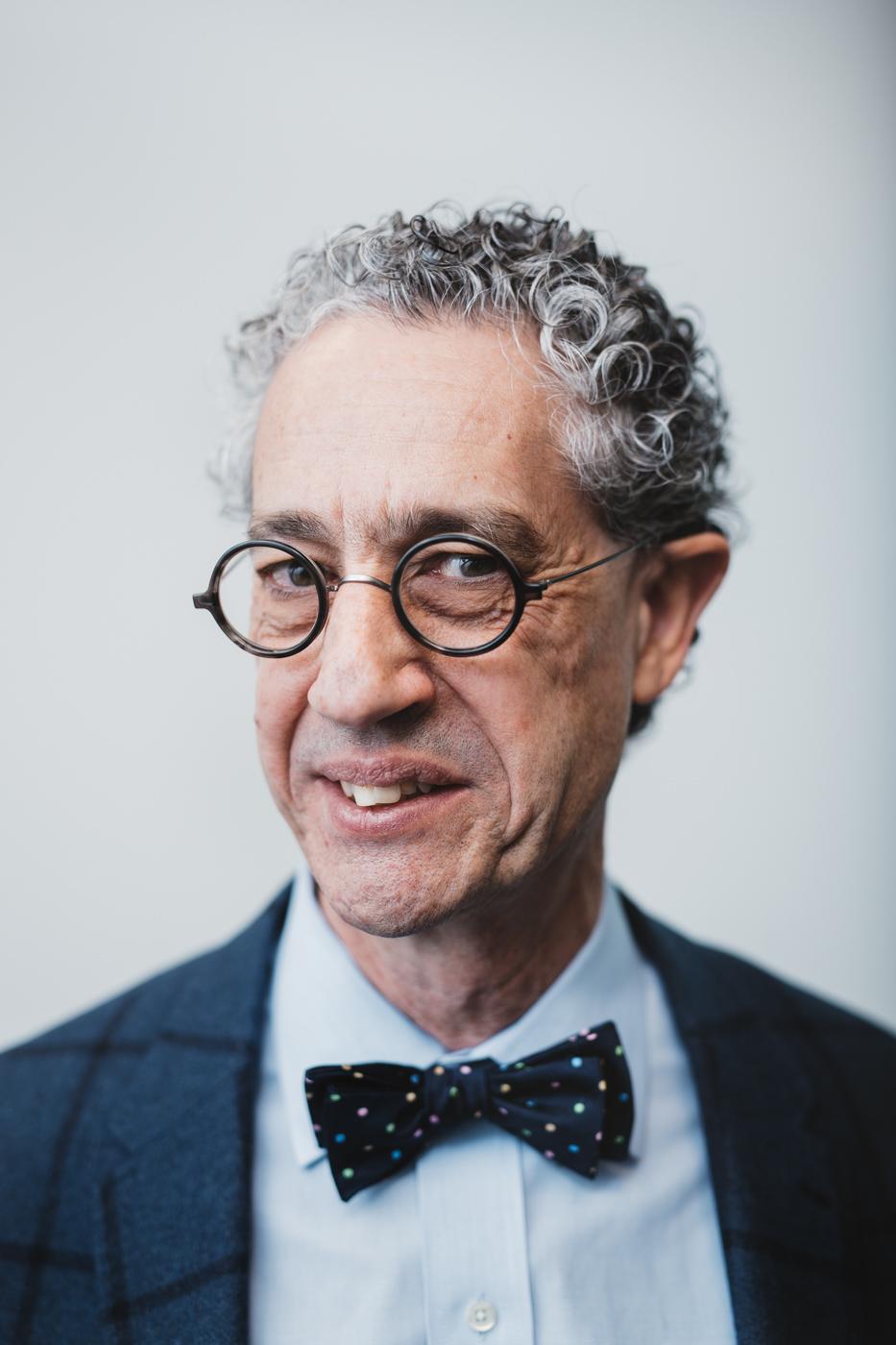 Portrait of Economist Peter Tertzakian on editorial assignment in Calgary