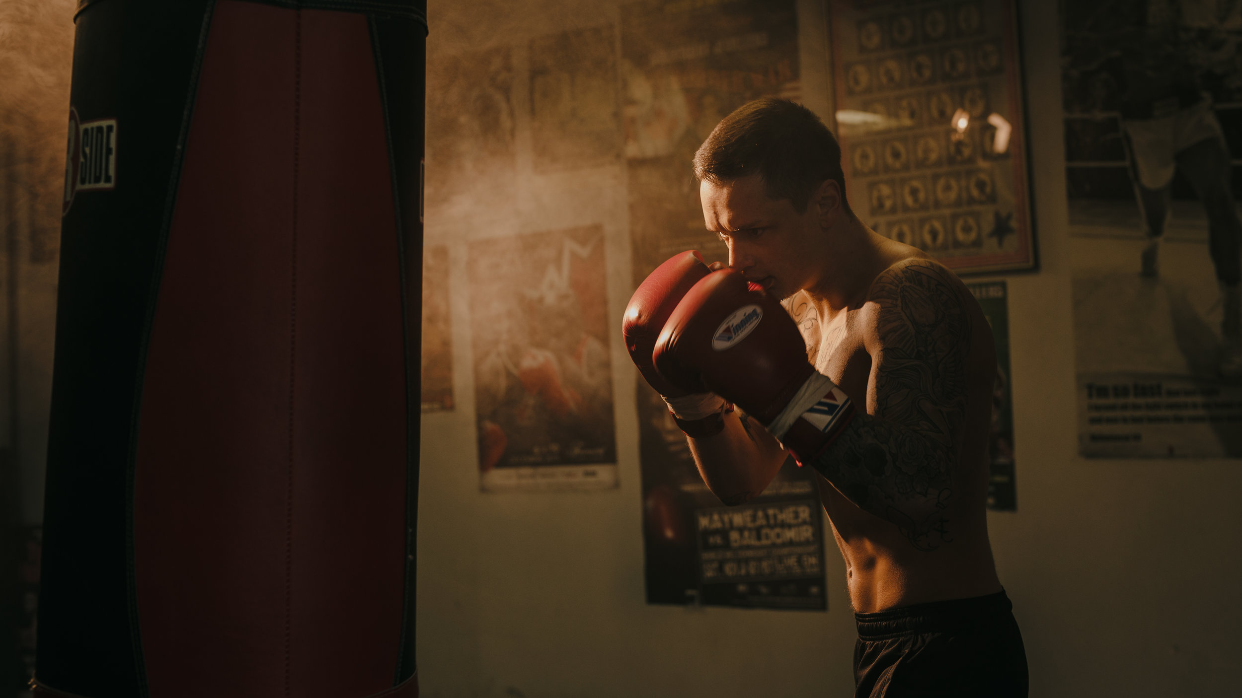 Boxing - A canon c200 test