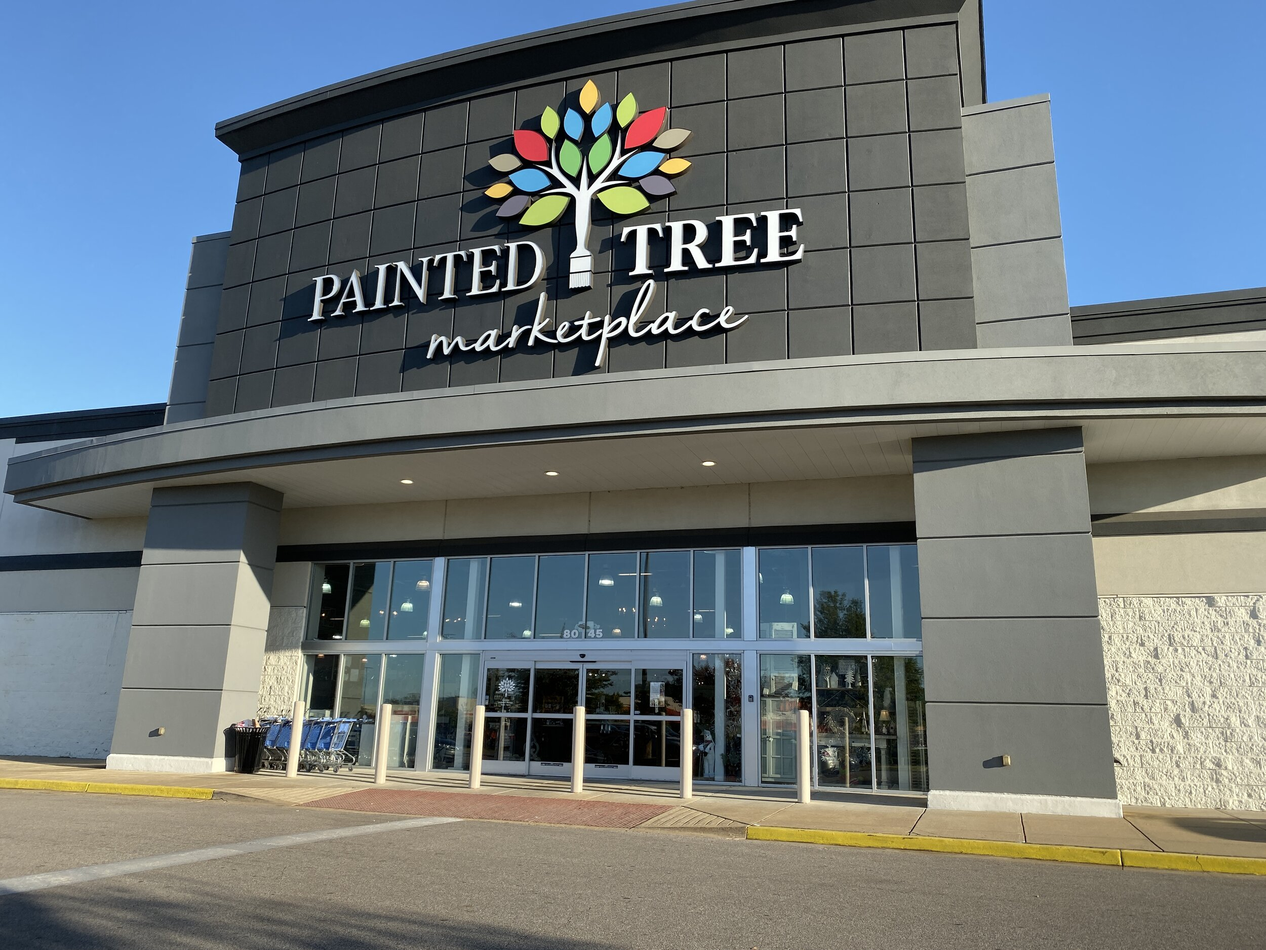 Painted Tree Marketplace  8045 Giacosa Place  Memphis, Tennessee 38133
