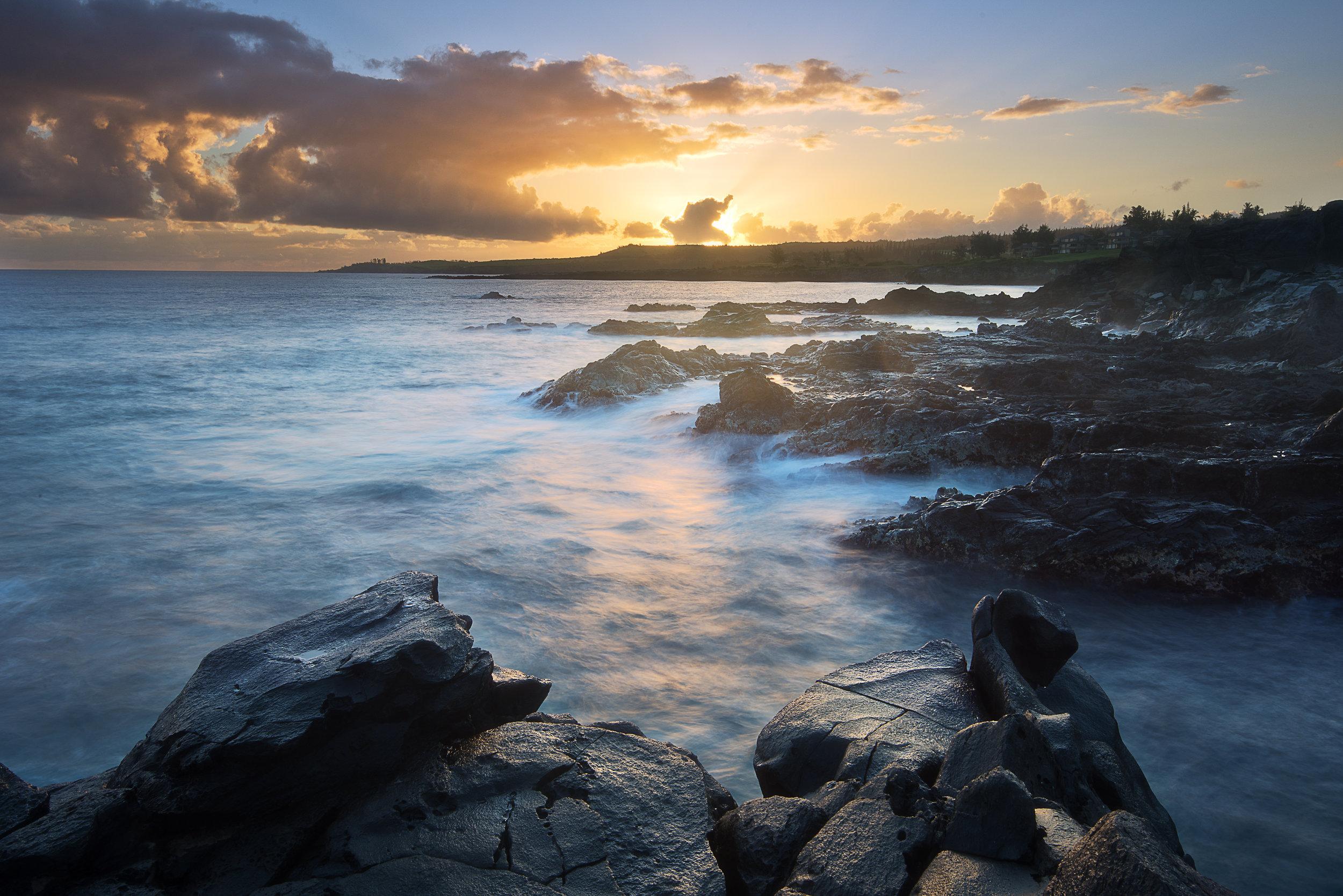 Sunrise at Kapalua, Maui