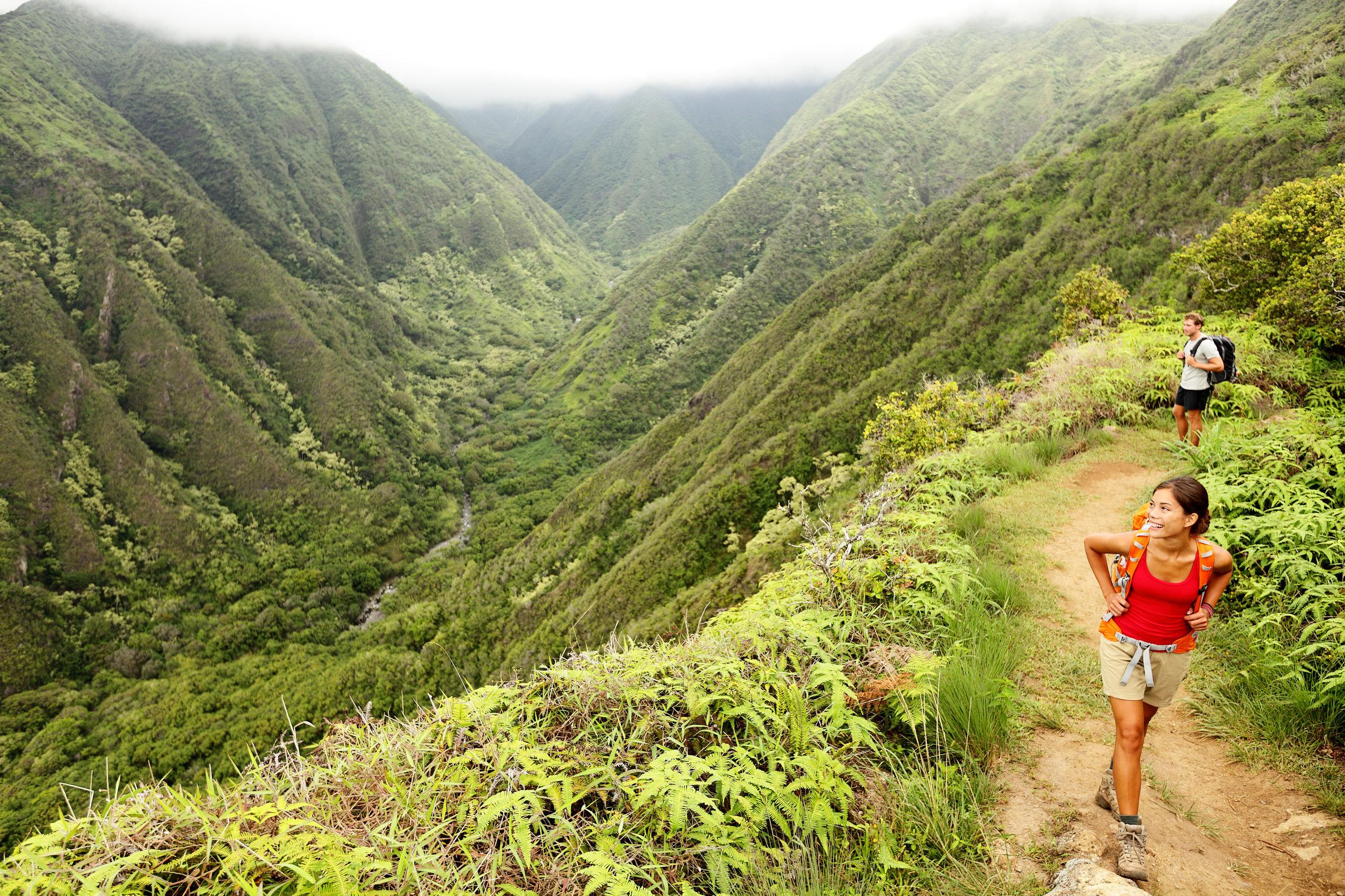 Waihee Ridge Trail, Maui
