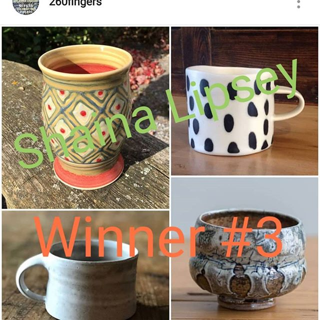Shaina Lipsey!! These cups are yours!! Congratulations, you are winner number 3!! Check your inbox, and head on over to pick up your cups!!#260giveaway2018 #260fingers #260fingers2018