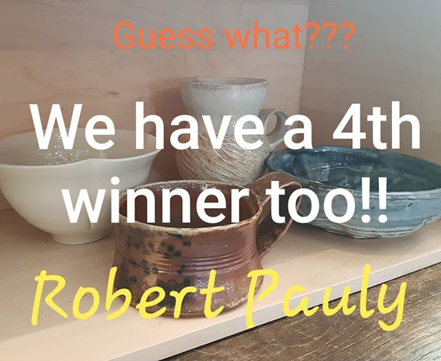 Surprise!!! We're so excited about our #260giveaway2018 we have a 4th winner!! Congratulations Robert Pauly, these fabulous cups are yours!! Head on over to pick up your win!! #260fingers2018 #260fingers Congratulations everyone, thanks for playing along!!