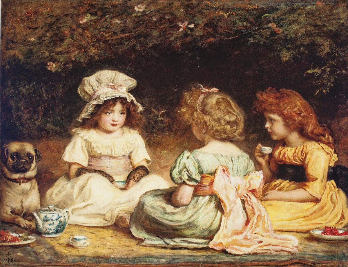 "Afternoon Tea or ""The Gossips""  
