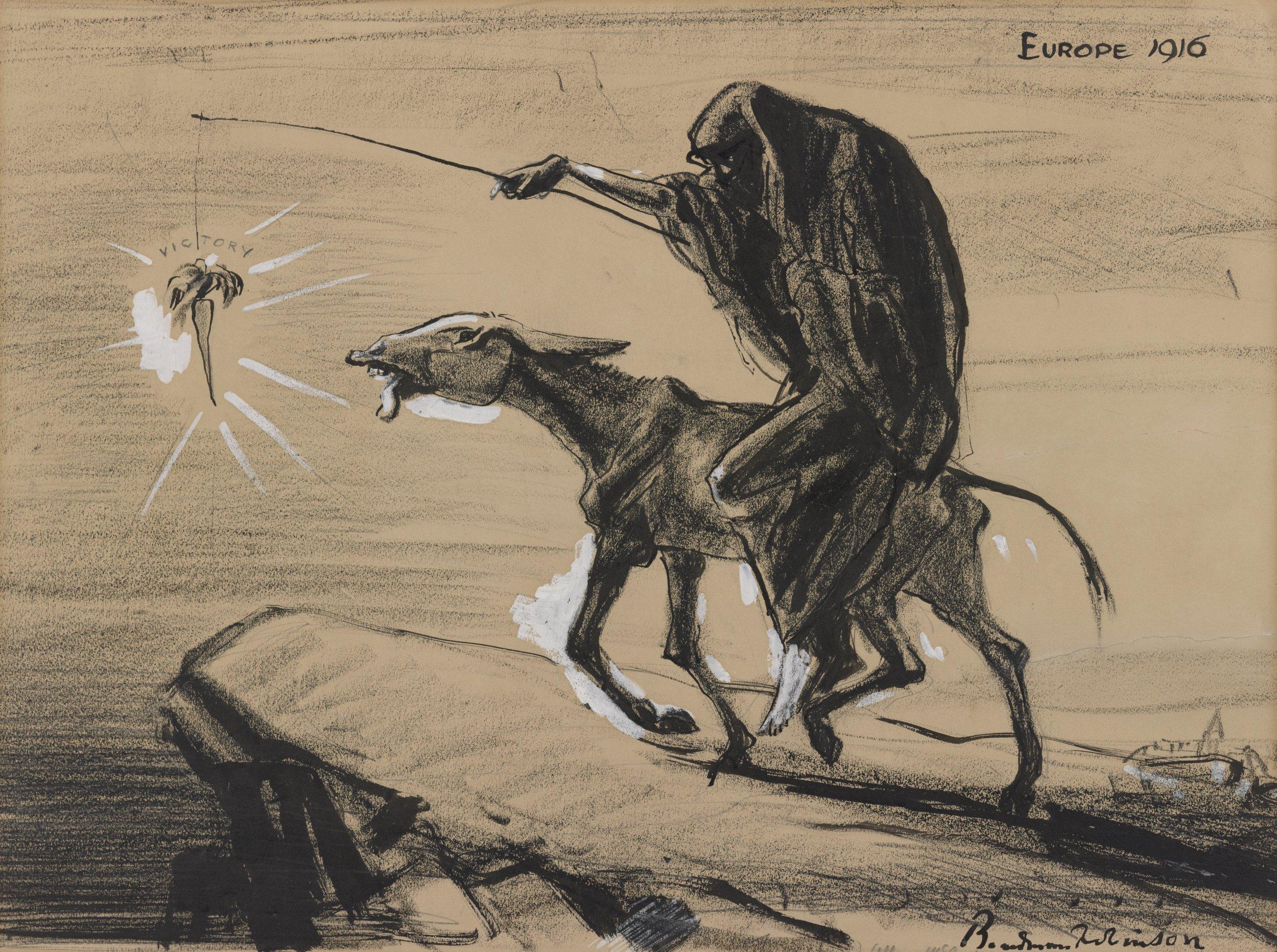 Europe 1916   | Boardman Robinson (1916)