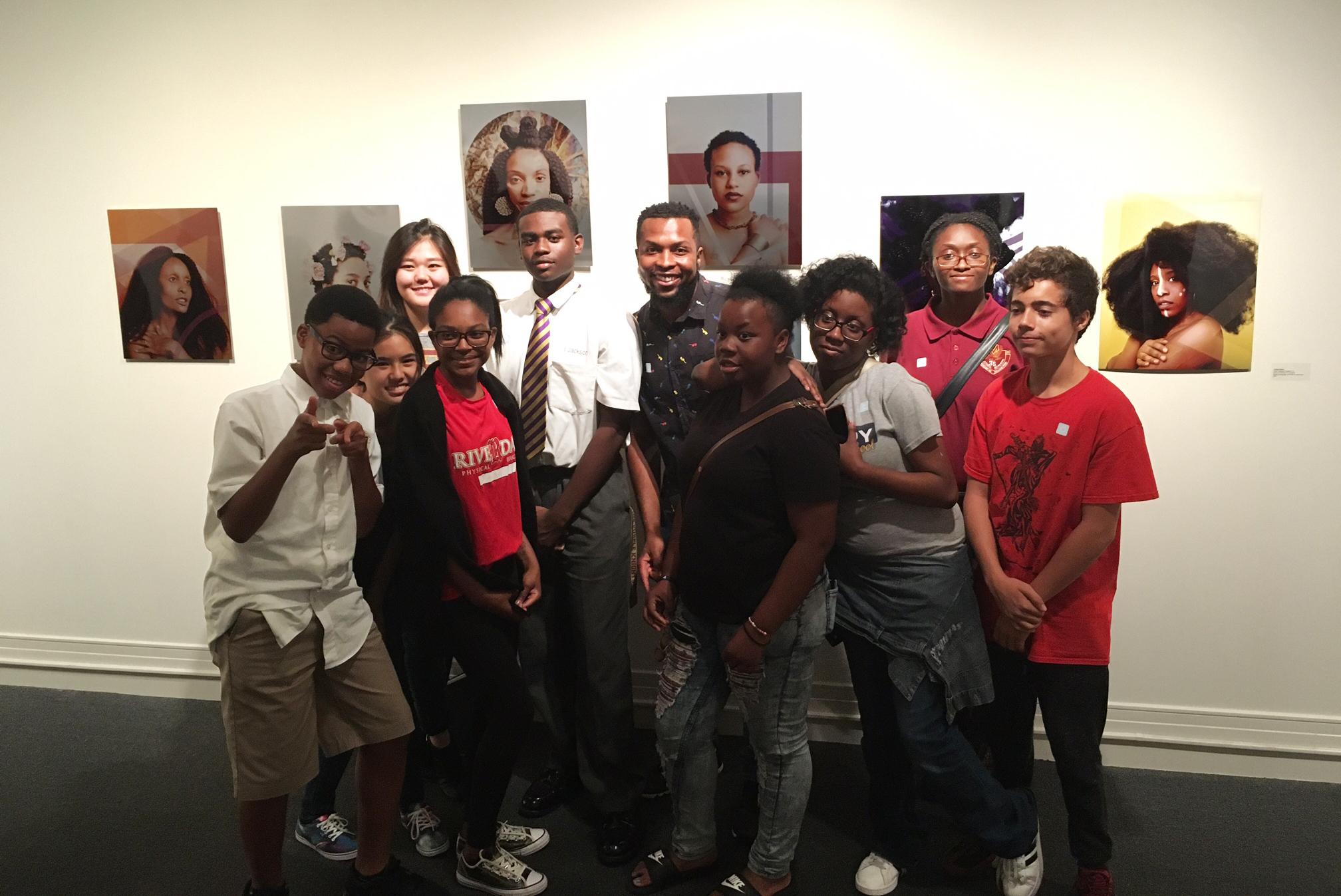 Jourdan Barnes -YAYA Alumnus,Mixed Media Teaching Artist -