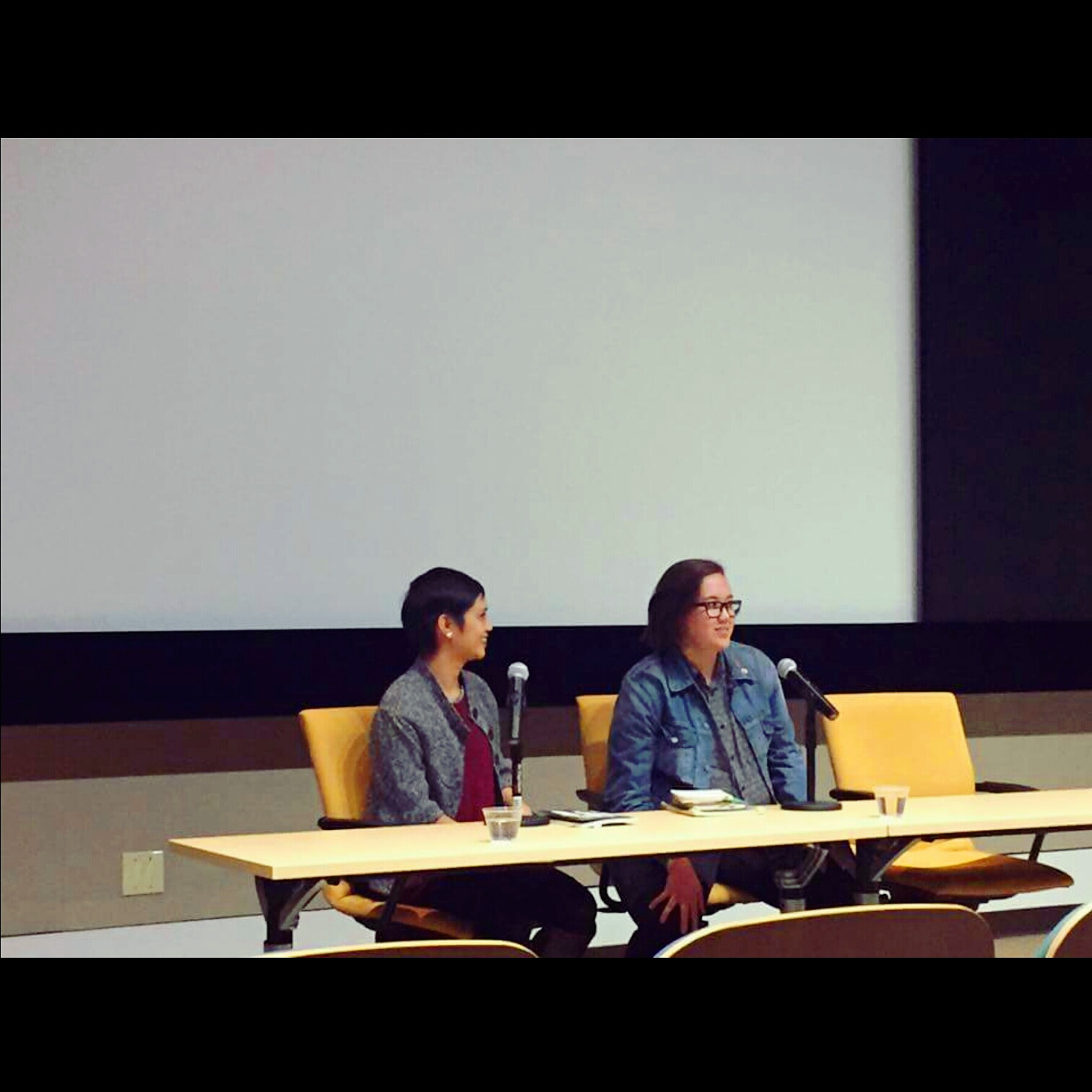 @ UCR's Writer's Week reading with Rachelle Cruz 2.16.17. Photo by:  Cati Porter