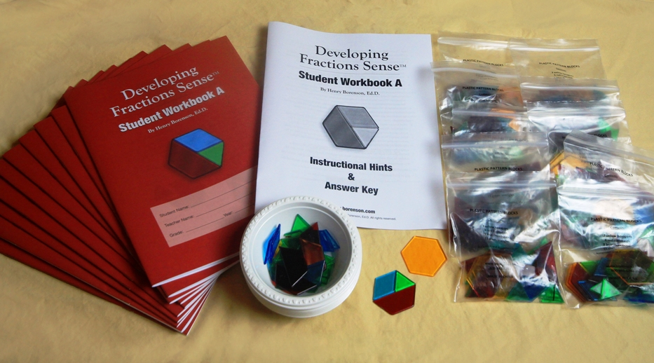 Hands On Equations Fractions  - Now available from the Borenson website