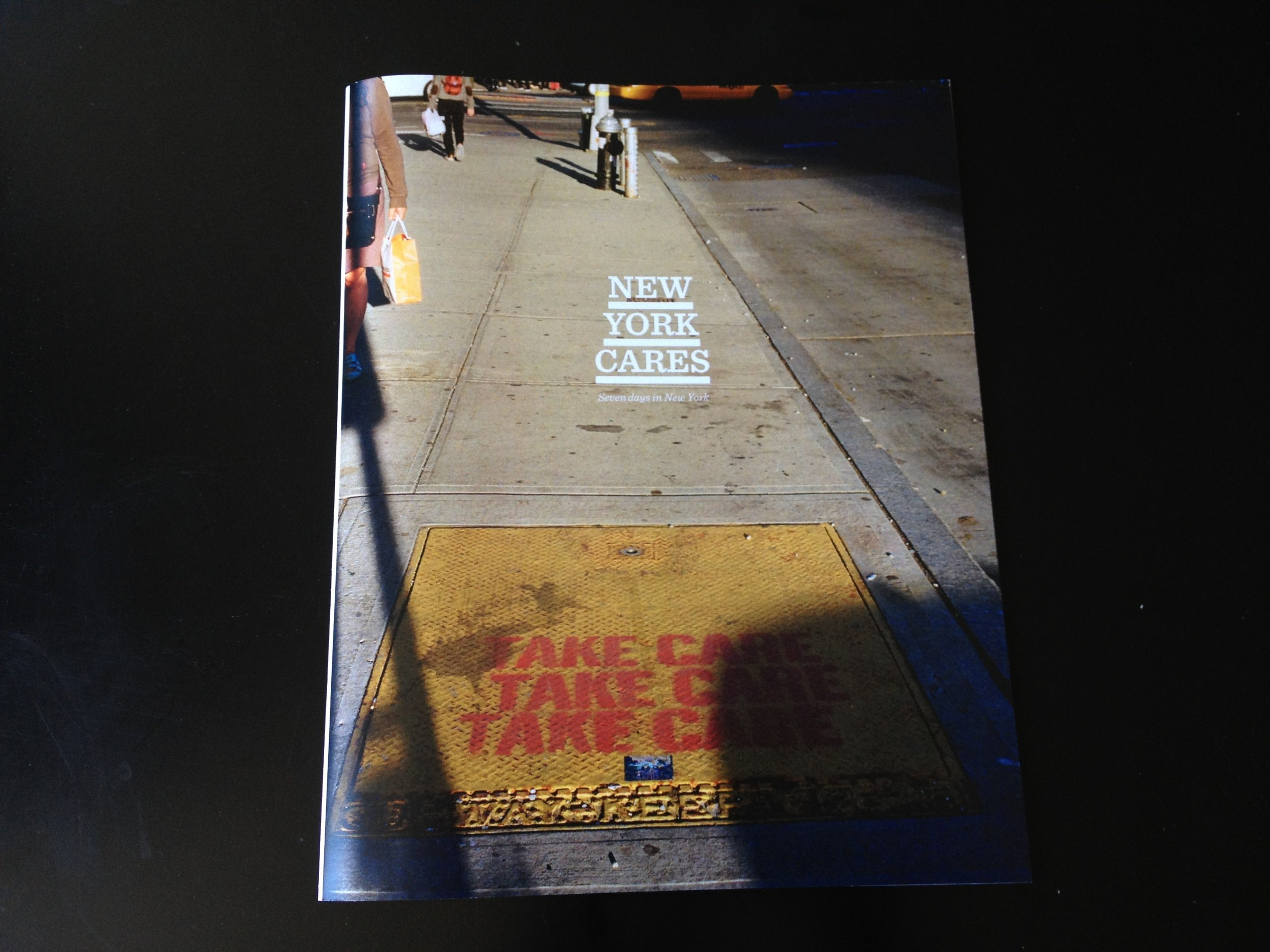 New York Cares - Self-published zine, 2012